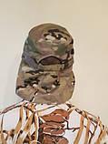 """Кепка с защитой от солнца камуфляж """"мультикам"""" светлая, фото 3"""