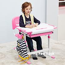 Дитяча парта растишка і стільчик FunDesk Bambino Pink - ОПТОМ ДЛЯ ШКІЛ, фото 2