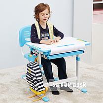 Детская парта и стульчик для школы FunDesk Bambino Blue - ОПТОМ ДЛЯ ШКОЛ, фото 2