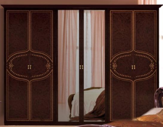 Шкаф 6Д Мартина (зеркала) MiroMark