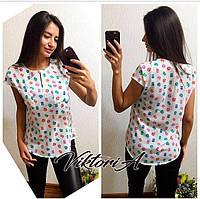 Стильная молодежная блузка