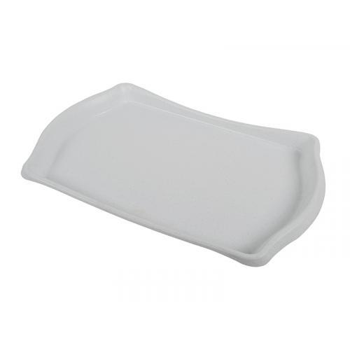 Поднос IL-PE белый большой 52*34 см