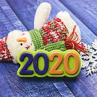 """Пластиковая форма """"2020"""" ВЫДУМЩИКИ, фото 1"""