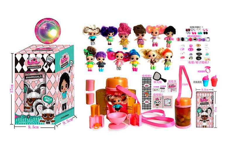 Кукла в капсуле с волосами, 33320