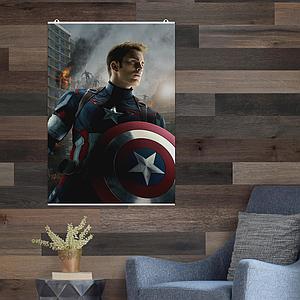 """Постер """"Капитан Америка / Captain America / Эра Альтрона"""", Marvel. Размер 60x42см (A2). Глянцевая бумага"""