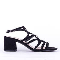 Босоножки на каблуке Sopra 8659A-60 BLACK 37 р, фото 1