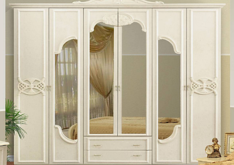 Шкаф 6Д Олимпия Миромарк