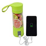 Туристичний Гуртка блендер Juice Cup NG-01 Шейкер З Функцією Power Bank, фото 5