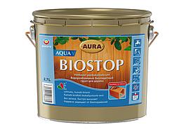 Водоразбавимая биозащитная грунтовка Aura Biostop Aqua V 2,7л