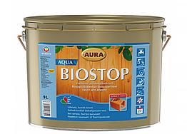 Водоразбавимая биозащитная грунтовка Aura Biostop Aqua V 9л