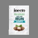Тестер увлажняющего шампуня для блеска волос с аргановым маслом Inecto Naturals Argan Shampoo 3 ml