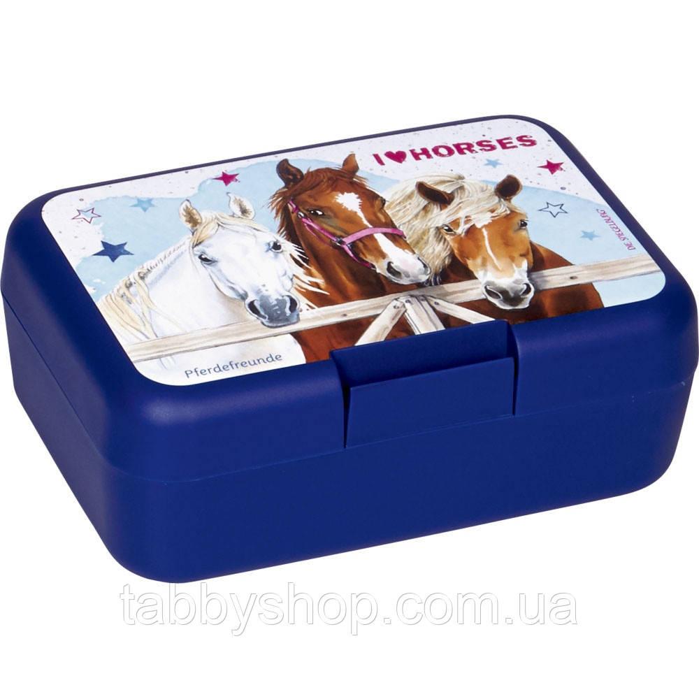 """Коробка бутербродная Spiegelburg """"Друзья Лошадей"""""""