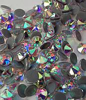 Стразы hotfix luxe 16 граней (имитация swarovski xirius) ss20 (1440 шт) Crystal AB