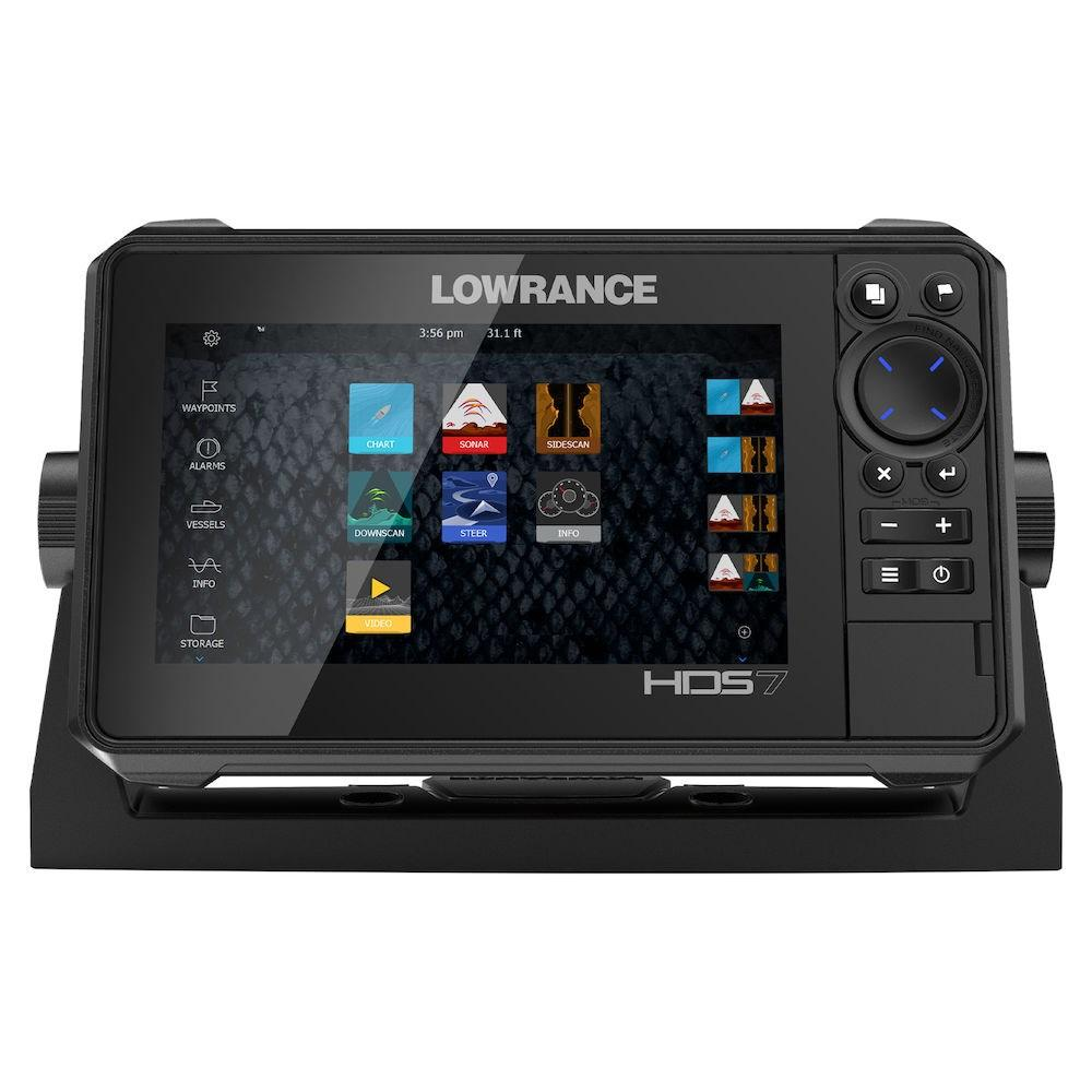Ехолот Картплотер Lowrance HDS-7 Live Active Imaging 3 in 1 + Navionics Platinum