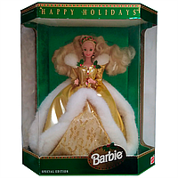 Коллекционная кукла Барби Barbie 1994 Happy Holidays Barbie Special Edition Mattel 12155, фото 1