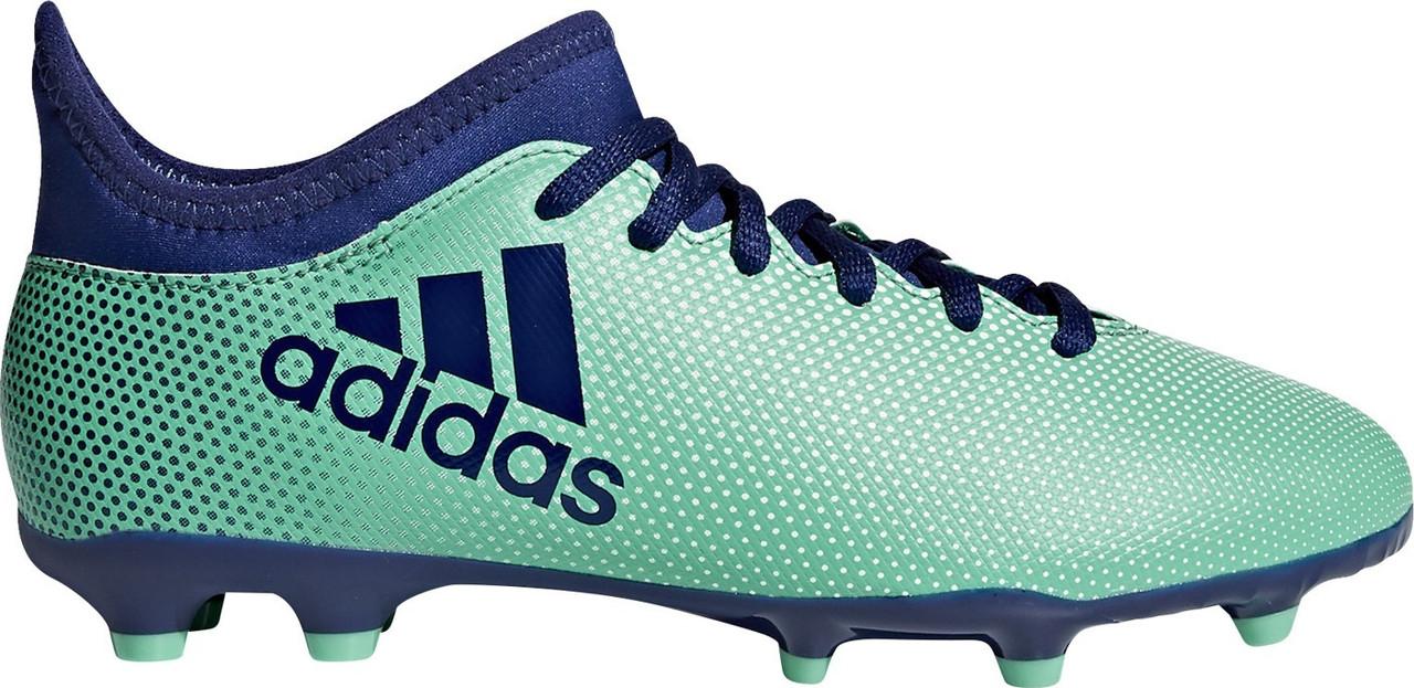 Детские футбольные бутсы Adidas X 17.3 FG J (CP8993) - Оригинал.