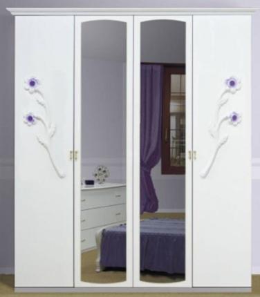 Шкаф 4Д Лулу (зеркало) MiroMark