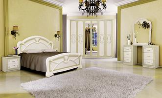 Спальня Примула 3Д (Радика Беж)  Миромарк