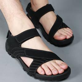 Чоловічі сандалі і шльопанці