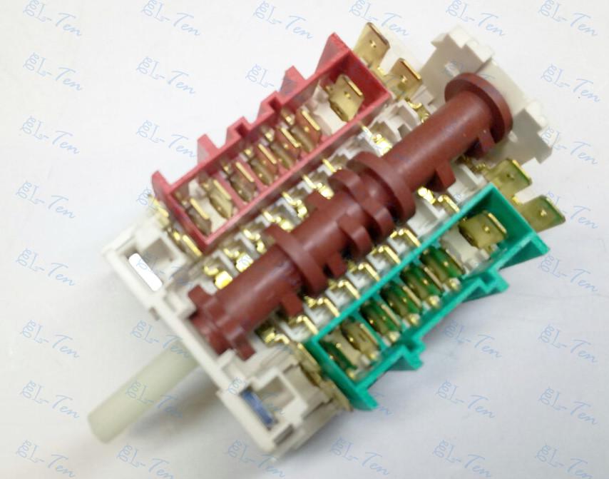 Переключатель 11HE-023 на электроплиту 6-ти позиционный