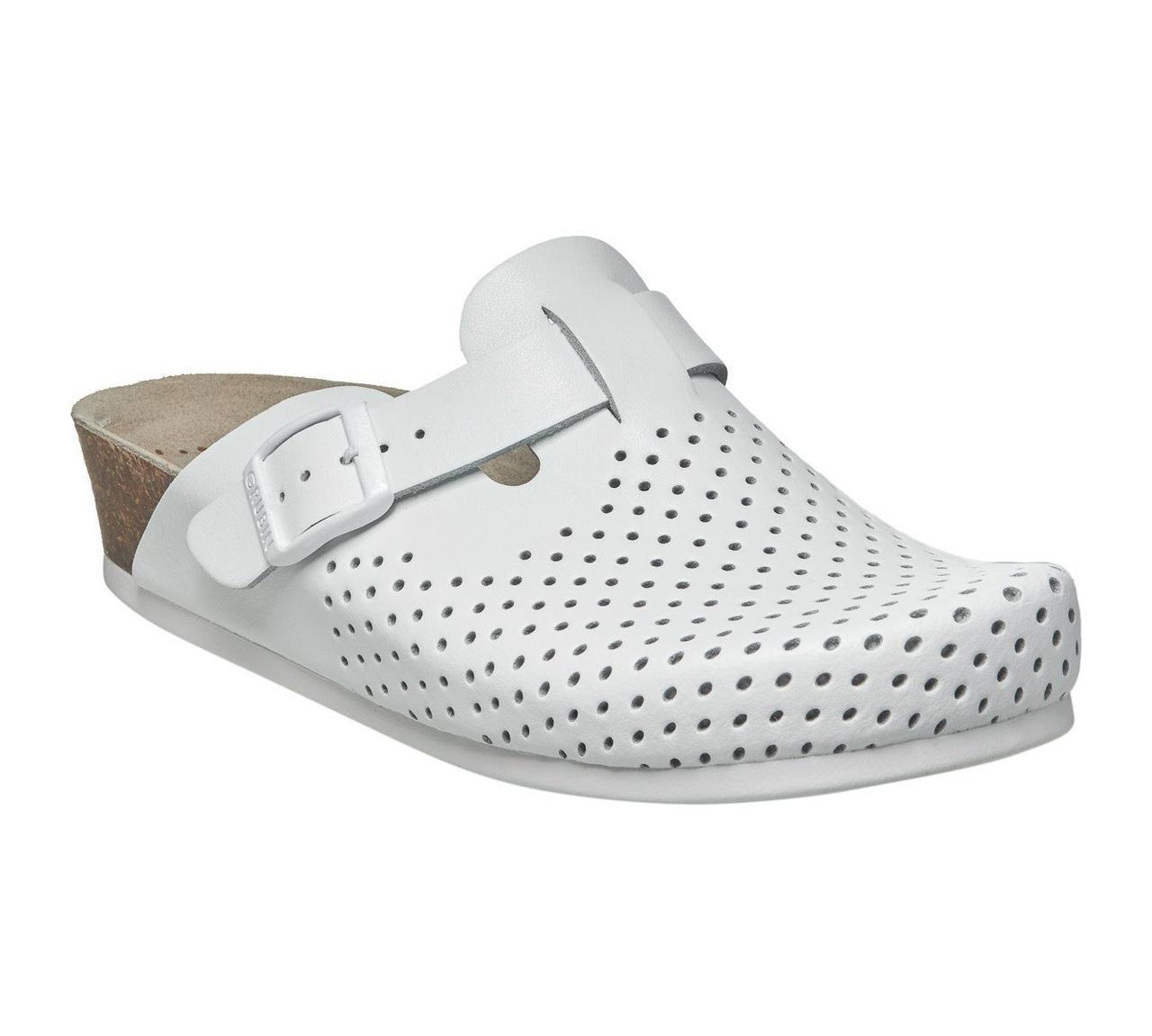 Сабо ортопедические женские Stil, цвет белый, размер 36