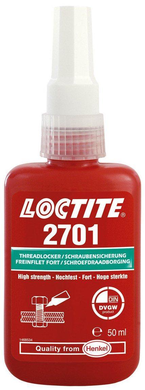 Резьбовой фиксатор высокой прочности Loctite 2701, 50 мл