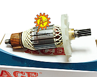 Якорь на отбойный молоток Hitachi PH 65A; Зенит ЗМ-1500;Sakuma H1740;Powertec PT 1308 ( 196*53/ 9 зубов  ), фото 1