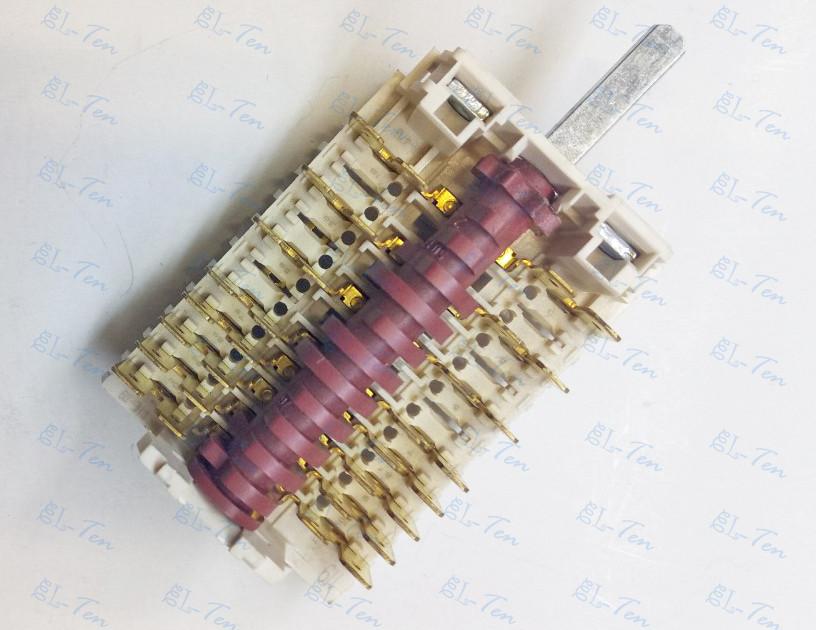 Переключатель 11HE-119 на электроплиту 8-ми позиционный