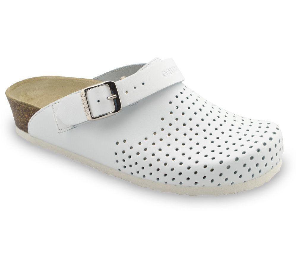 Сабо ортопедические женские Stocholm, цвет белый, размер 36