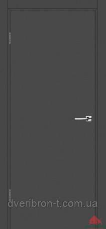 Двери Белоруссии Гладь эмаль графит ПГ