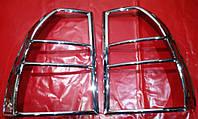 Хром накладки на стопы Kia Sportage 2, Киа Спортейдж 2