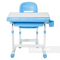 Детская парта со стульчиком FunDesk Cantare Blue - ОПТОМ ДЛЯ ШКОЛ, фото 2