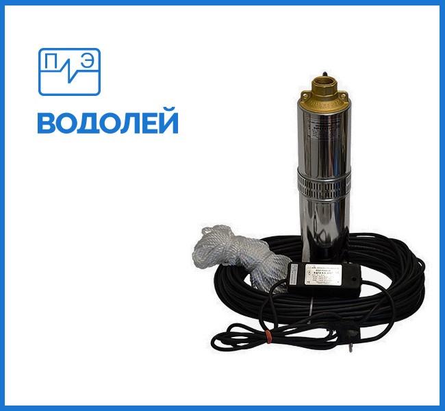 Глубинный насос ВОДОЛЕЙ БЦПЭУ 0.5-32У с внутреннем кабелем