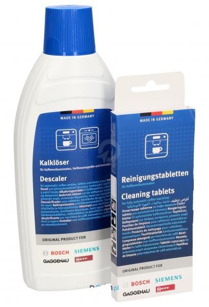 Комплект для чистки кофемашин Bosch, Siemens 00311813