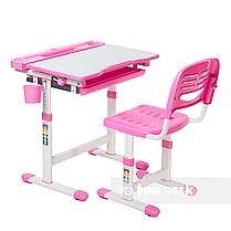 Детская парта со стульчиком FunDesk Cantare Pink - ОПТОМ ДЛЯ ШКОЛ, фото 2