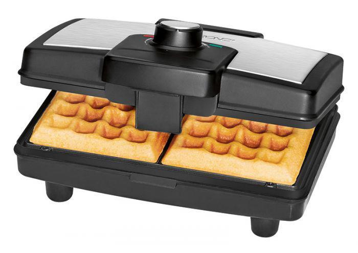 Вафельница для бельгийских вафель Clatronic WA 3606