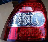 Задние тюнинг фонари Priora (приора) красные диод