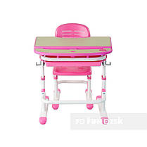 Детская парта со стульчиком FunDesk Sorriso Pink - ОПТОМ ДЛЯ ШКОЛ, фото 2