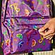Рюкзак Surikat City 16л. 18х28х40 см. фіолетовий Butterfly поліестер 600D, фото 4