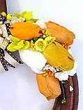 Дизайнерский венок - подарок собачнику с лакомством для собак ЭКСКЛЮЗИВ, фото 2