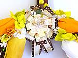 Дизайнерский венок - подарок собачнику с лакомством для собак ЭКСКЛЮЗИВ, фото 3