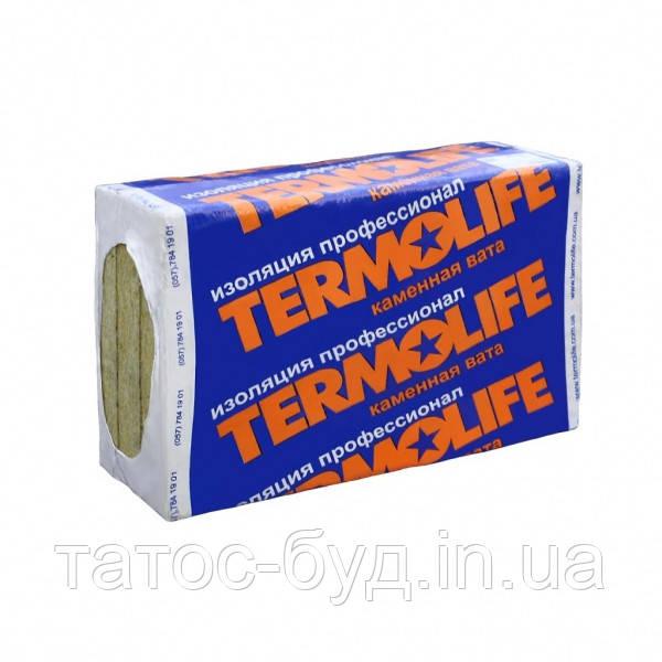 Утеплитель Термолайф Эколайт 1000х600х50 мм 30 плотность (7,2м2 уп.)