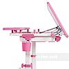 Растущая парта для школьника FunDesk Lavoro L Pink, фото 2