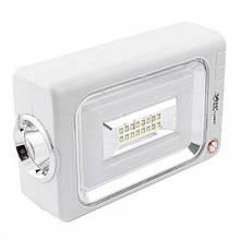 Фонарь аккумуляторный LUXURY 6869 со светодиодной панелью