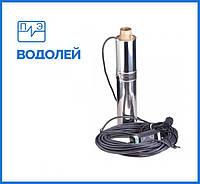 Глубинный насос ВОДОЛЕЙ БЦПЭУ 0.5-63У с внутреннем кабелем, фото 1