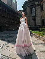 Вечернее, выпускное платье в стиле бохо