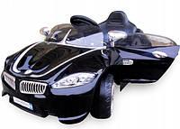 Детский электромобиль на аккумуляторе Cabrio B3 (Чёрный) мягкие колёса с пультом управления