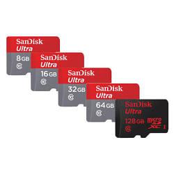 Карта памяти 8gb SanDisk ultra micro SD флешка оригинал+адаптер