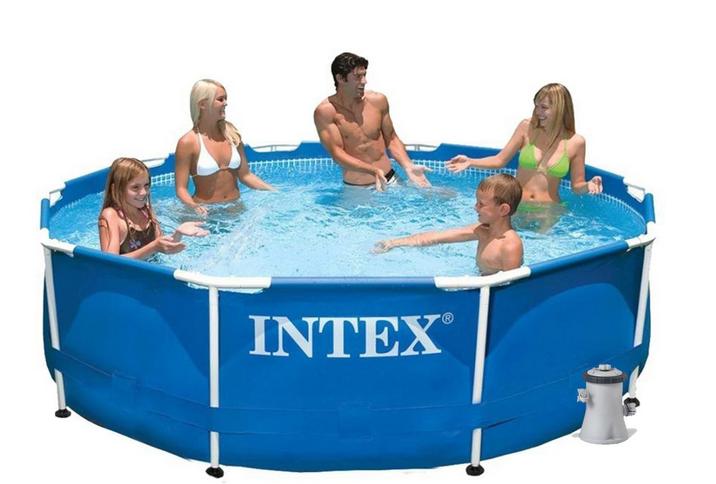 Каркасный бассейн.Сборный бассейн.Бассейн каркасный семейный.