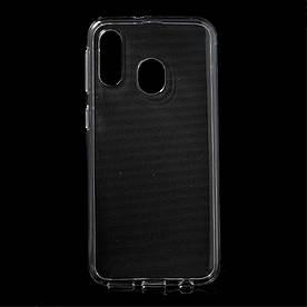 Чехол накладка для Samsung Galaxy A40 A405FD силиконовый, Прозрачный